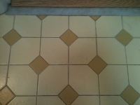 grout cleaning before