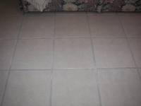 clean grout after cleaning picture
