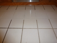 single pass tile and grout cleaning