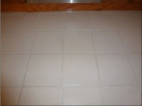 after tile and grout cleaning