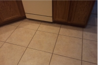 before tile and grout cleaning